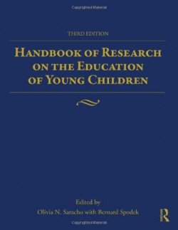 Handbook of research on the education of young children bookcover
