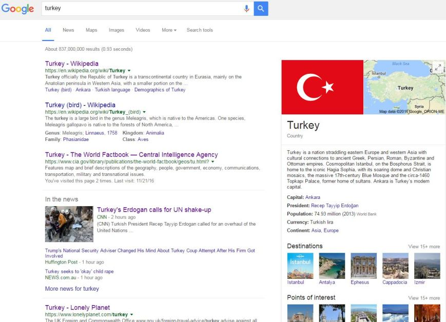 google-turkey